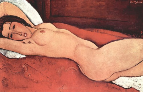 Frauenakt von Modigliani